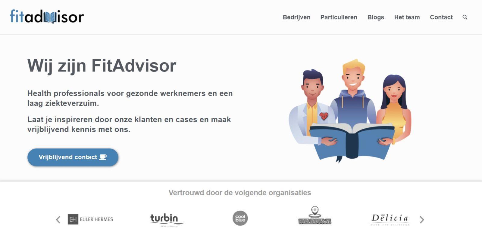 fitadvisor e-commerce