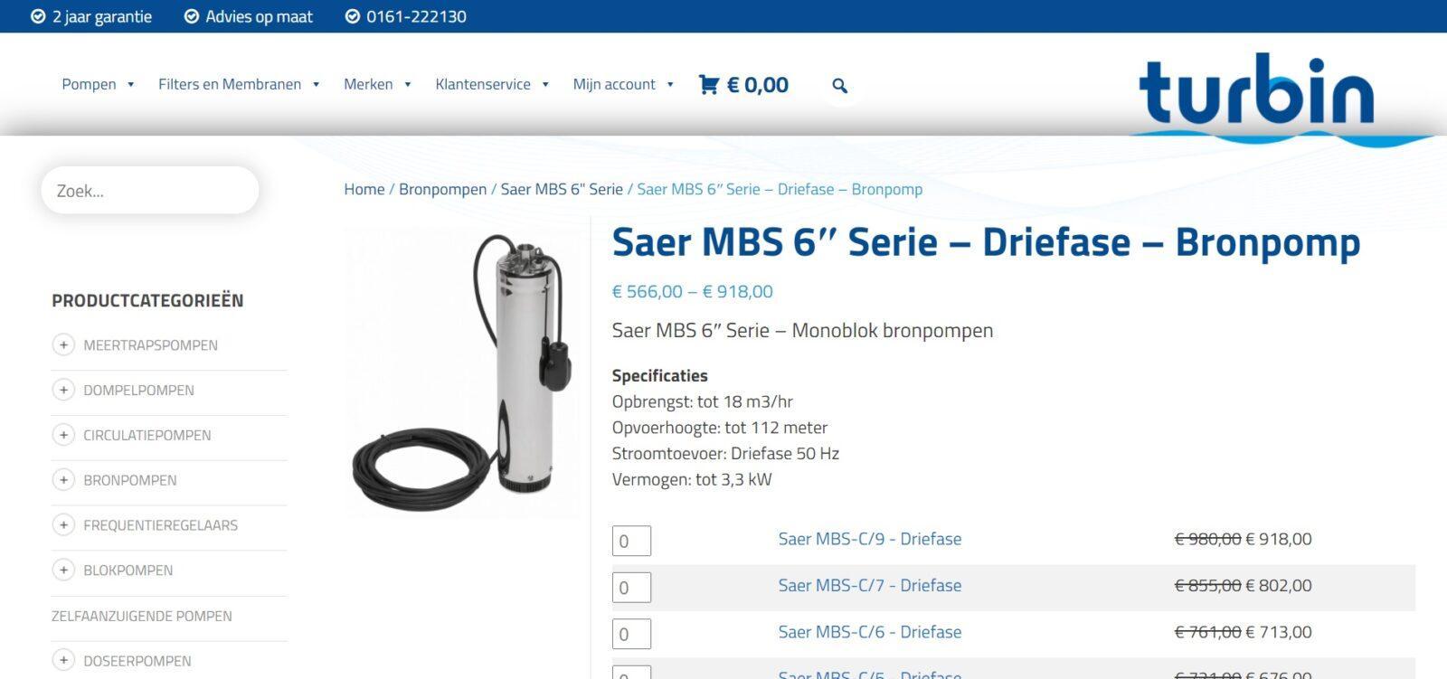 b2b webshop industrie