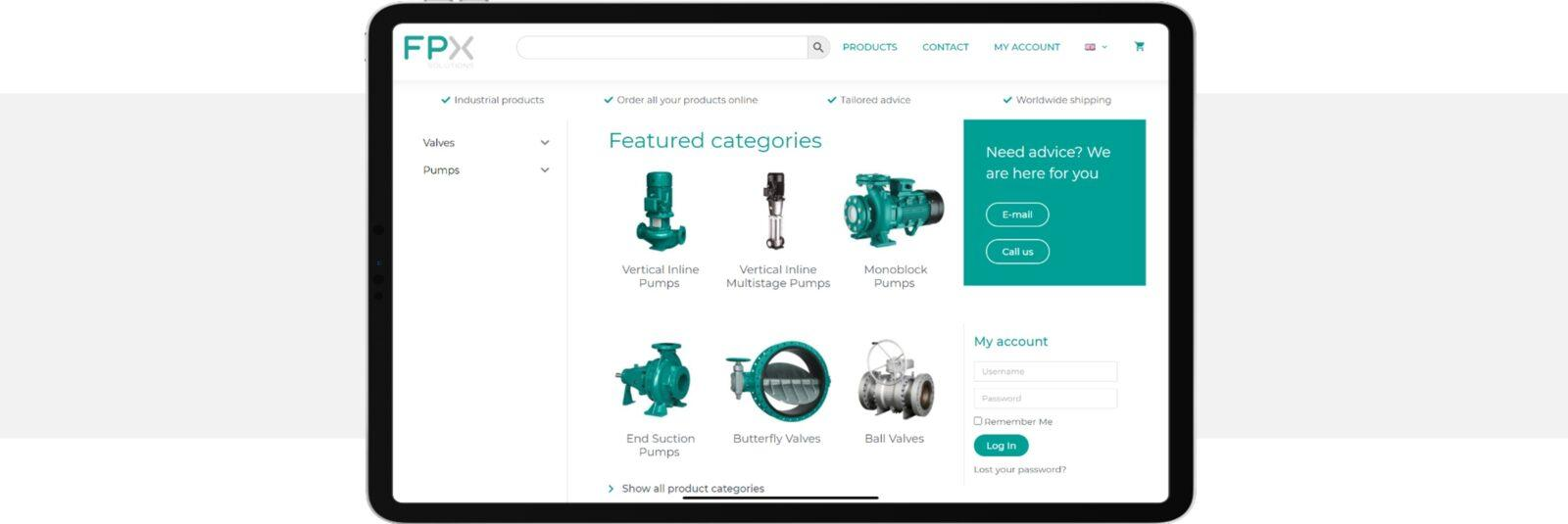 fpx solutions webshop